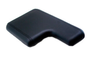 Armrest Console Cover Leather Synthetic For 00 06 Ford Ranger Black W Cupholder