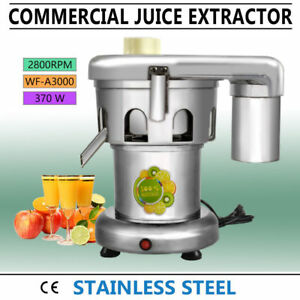 Ce Commercial Juice Extractor Stainless Steel Juicer Heavy Duty Wf a3000