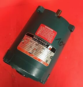 Reliance Electric Duty Master A c Motor 1 4 Hp 1725 Rpm p56h3003m