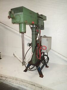 5 Hp Myers Slow Speed Disperser Model 500a 5 235