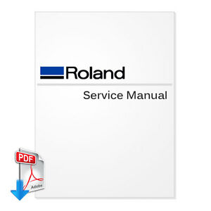 Roland Soljet Pro 4 Xr 640 Service Manual For Wide Format Printers pdf File
