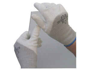 12pr Sperian Showa Atlas Fit Dyneema 555 m Xtra Cut Resistant Glass Work Gloves