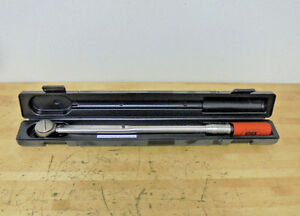 Cooper Utica Tci 250frn Ratchet Head Torque Wrench 1 2 Drive 50 250 Ft lb