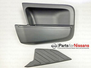 Genuine Nissan 2005 2015 Xterra Rear Left Lh Driver Bumper Step With Pad