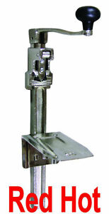 Omcan 10582 Commercial Heavy Duty 1 Can Opener Up To 11 Tall Restaurant