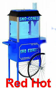 Paragon Sno storm Snow Cone Machine With Cart Free Shipping 6133110 3050010