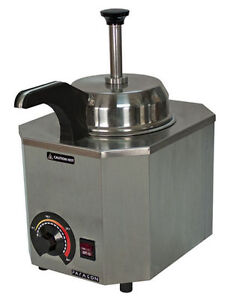 New Nacho Cheese Warmer Dispenser With Heated Spout Holds A 10 Can 2028 C