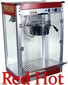 New Paragon Theater Popcorn Popper Machine 12 Oz Tp 12 Free Shipping 1112110