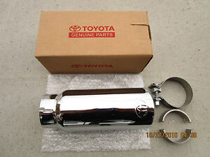 07 19 Toyota Tundra Sr5 Limited Trd Stainless Steel Exhaust Tip New 34120 34160