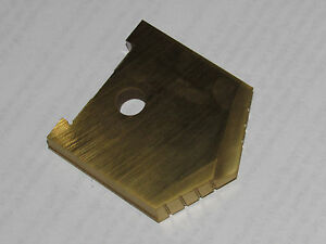 New Amec Allied Machine 10234 013t c 1 31 32 Tin Coated Space Drill Insert