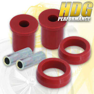 1979 2004 Ford Mustang Red Polyurethane Rear Lower Control Arm Bushing