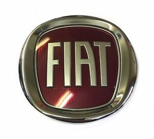 Oem 2012 16 Fiat 500 500c turbo Grille Emblem Badge B632