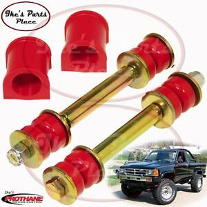 Prothane 18 1103 Front 19mm Sway Bar Bushings End Link Kit 79 88 Toyota Pu 4wd