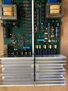 Edm Pcb Power Up Charmilles Tech Sinker Pn 852447