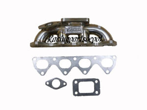 Obx Turbo Header Fit For 92 96 Honda Prelude Vtec 2 2l T3 38 Fl