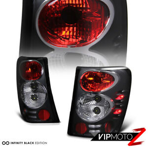 For 99 04 Jeep Grand Cherokee Black Tail Light Brake Signal Lamp Led Side Marker