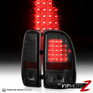 1997 2004 Dodge Dakota perfectly Smoked Brake Led Signal Tail Lights Pair Lamp