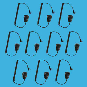10 Pcs Handheld Light Speaker Microphone For Kenwood Nx 420 Tk 3402 Tk 3400