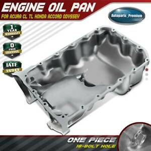 Engine Oil Pan For Acura Cl Tl 1997 2001 Honda Accord 1998 2002 Odyssey 99 2004