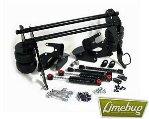 Classic Vw Beetle Ghia Rear Bolt On Air Ride Suspension Kit 1958 79 Swing Axle