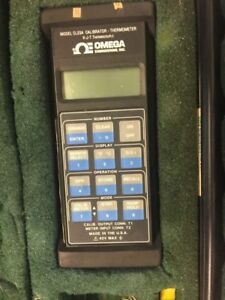 Omega Engineering Calibrator thermometer Cl23a