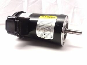 New Baldor Single 1 Phase 1 2hp Ac Motor 115v 230v 2850 3400rpm 42yz 50 60hz