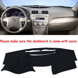 Dashmat Dash Cover Dashboard Mat Car Interior Pad Fit For Toyota Camry 2007 2011