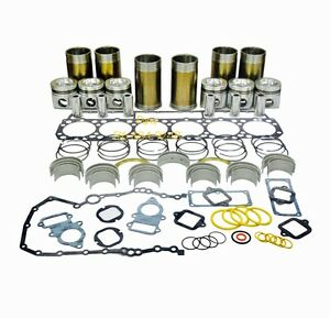 8n3182 ifk Cat 3306 Inframe Overhaul Kit Fits Caterpillar Dozer Excavator Loader