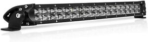 30 Inch 528w Cree Led Light Bar Combo For Offroad Rzr Truck Atv Polaris Honda