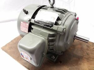New Us Electrical Motors 1 1 2hp 1 5hp Ac Motor 460v 3 Phase 3515rpm 182 Frame