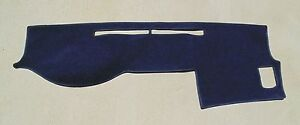 2005 2015 Toyota Tacoma Truck Dash Cover Mat Dark Navy Blue