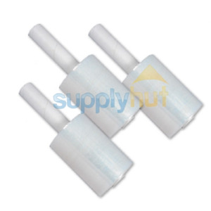 5 In X 1000ft 80 Gauge Extended Core Stretch Shrink Film Hand Wrap 12 Rolls