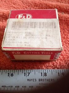 F d Involute Gear Cutter No 8 9 Dp 14 1 2 Pa Nsn 3455 00 250 4751