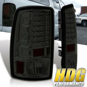 00 06 Chevy Tahoe Replacement Led Brake Tail Lights Lamps Unit Left right Smoke