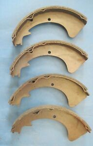 1959 1960 1961 Chrysler Newport Brand New Brake Shoes Full Size Car 11 X 2 5