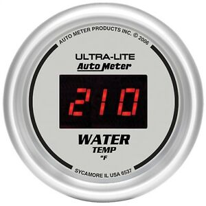 Autometer 6537 Ultra lite Digital Water Temperature Gauge