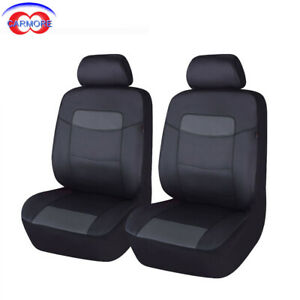 New Arrival Car Seat Covers Front Set Deluxe Pu Leather Car Seat Protectors