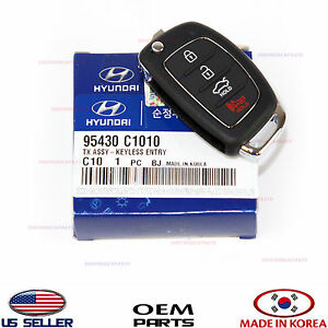 Folding Key Remote Control Remote Transmitter Genuine Sonata 15 17 95430c1010
