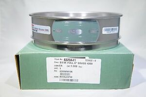 Advantech Stainless Steel Test Sieves 8 Diameter 100 Mesh Full Heigh h 43