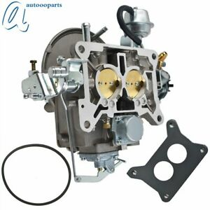 2 Barrel Carburetor Carb 2100 For Ford 289 302 351 Cu Jeep 360 Engine From Ca