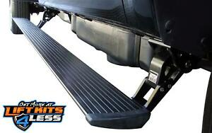 Amp Research Power Electric Step Running Boards For 11 14 Chevrolet 2500 3500hd