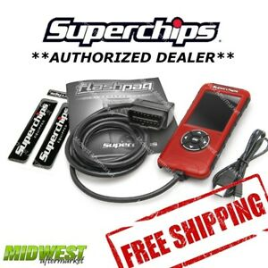 Superchips Flashpaq F5 Performance Programmer 99 08 Chevy Silverado 1500 5 3l
