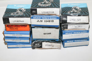 Lot Of 13 Bearings Lm104911 Lm501349 Lm603011 Lm104912 Jlm104910
