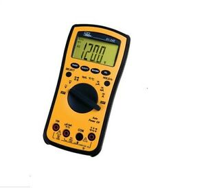 Cat Iii Capacitance Temp Yellow Test pro Digital Multimeter W Auto Power Off
