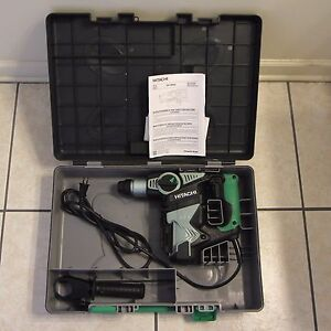 Hitachi Dh28pd 1 1 8 Sds Plus Rotary Hammer Drill Kit No Dust Collection
