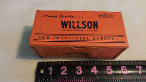 New In Box 1 Pair Vintage Willson Welder Goggle Replacement Frames navy Specs