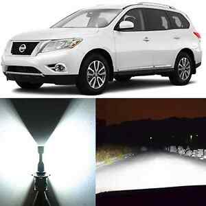 Alla Lighting Headlight H13 White Led Conversion Kits For 2004 12 Nissan Sentra