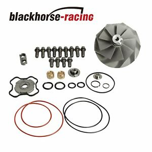For Powerstroke7 3l Turbo Banks Compressor Wheel Upgraded Rebuild Kit Tp38 Gtp38