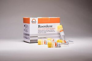 Dental Mta Rootdent Root Canal Repair Product 1g 4 Doses X 0 25g Each