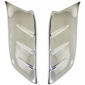 Chevy Front Fender Gravel Shields Stainless Steel 1953 1954 80 251907 1